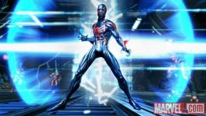 SPIDER-MAN 2099 IN A NEW GAME by jetfire333