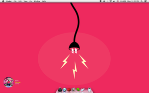 RED - Mac OS X Mavericks by cocooh