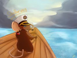 Sea mouse by Fillred