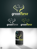 Green Force - Energy drink by thesamirH