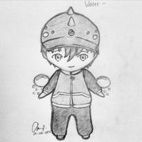 Boboiboy Water Chibi Version by anantadelicia