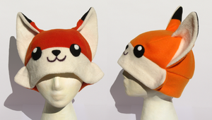 Fox Hat V2 by clearkid