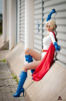 Power Girl by fabiohazard