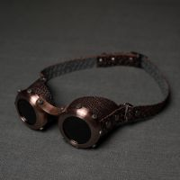 Steampunk goggles stylized old copper by ElBorodero