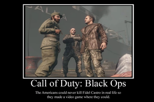 Black ops demotivator by Party9999999