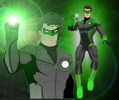 Green Lantern by CapeandCowl