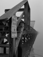 COASTAL PIER IN MISSISSIPPI by CorazondeDios