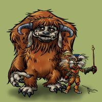 Ludo and Sir Didymus -Brothers by MirrorwoodComics
