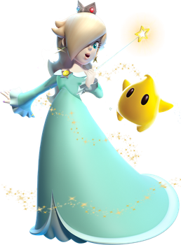 Princess Rosalina and Luma by CaitlinTheStarGirl