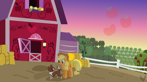 Applejack - Dawn of the Harvest by Firestorm-CAN