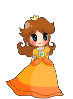 Princess Daisy 8D by dragonfire-527