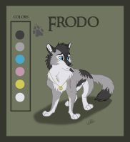 Frodo Refrence Sheet by WindWo1f