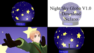 Night Sky Globe V1.0 + Download + Video Link by NeJano
