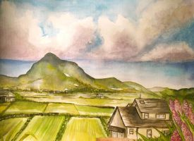 Japan Countryside by princessmoony