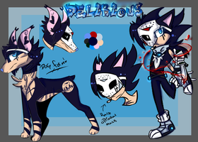 The unknow Killer Delirious R.E.F by Deadly-X-Madness
