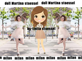 Doll Martina stoessel MIlan by bytinistoessel