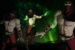 MK9 - Ermac alt - Sex God Mod DL by SovietMentality