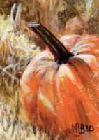 The Pumpkin Patch - ACEO-ATC by mbeckett