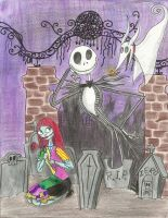 JACK, SALLY AND ZERO by abby-sanban