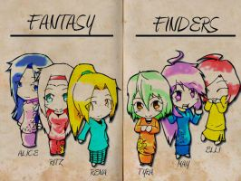 Fantasy Finders . Girl . by LunaeMaster