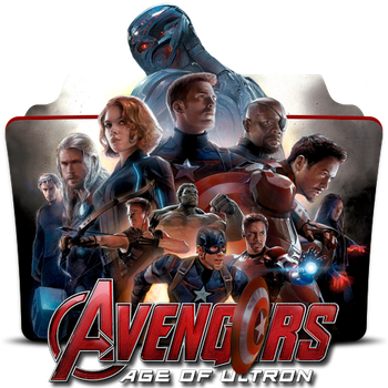 Avengers Age of Ultron (2015) v2 by DrDarkDoom