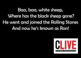 Baa Baa White Sheep - by Cornish Poet Clive Blake by CliveBlake
