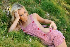 Louise C - pink overalls reprised 2 by wildplaces