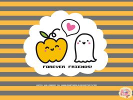 Forever Friends WP by myQTworld