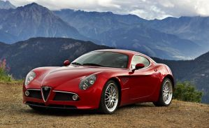 Alfa Romeo 8c Static by smokinjay
