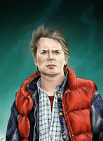 Marty McFly by Karenscarlet
