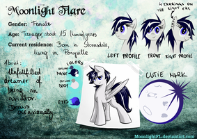 Moonlight Flare's Reference Sheet by MoonlightFL