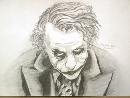 Joker Drawing 14-01-2010 by ChristiaanR1990