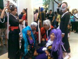 my cosplay group, again we're not complete here by miyaca