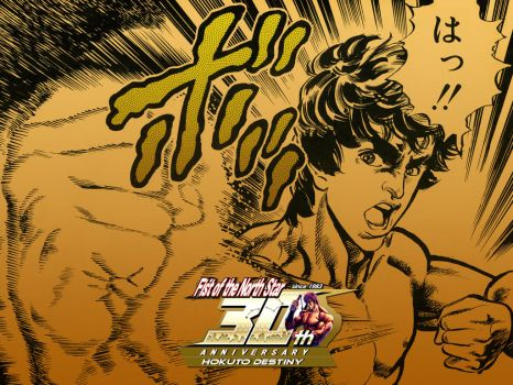 The first punch - Hokuto no Ken 30th Anniversary by Impe-HokutoDestiny