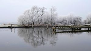 Winter Scape (1) by FractalCaleidoscope