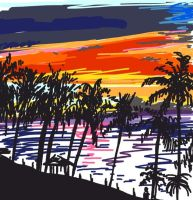tropical by DustyPaintbrush
