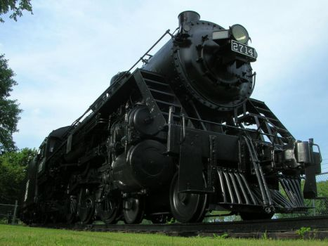 Engine 2714 by BenRR