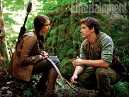 Katniss and Gale by forever-phinbella