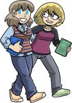Joyce and Dorothy by itswalky