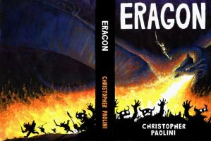 Eragon Book cover by Mablox