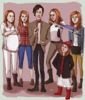 ALL the Amys by Ryla-Sehn