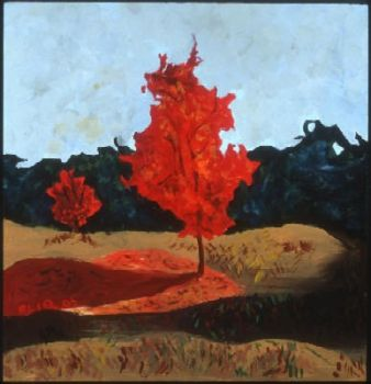 The Red Trees by eliq