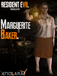 Resident Evil 7 : Biohazard - XPS - Marguerite by ZombieAlii