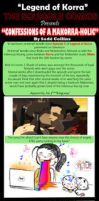 LoK: Confessions of A Makorra-holic by LittleMissSquiggles