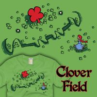 Clover Field by amegoddess
