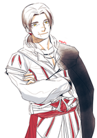 Young Ezio sketch by rodopic