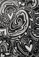Heart Paisley by Author-To-Be