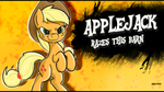 AppleJack Razes This Barn! Super Smash Bros. by CreativPony
