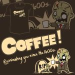 Woot Shirt - Coffee Zombie by fablefire