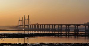 Bridge over the River Severn. by Lugnut1995